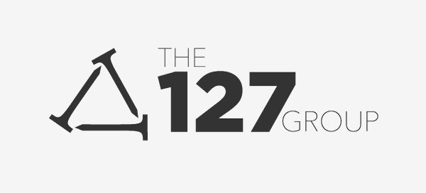 The 127 Group logo in black